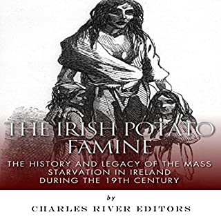 The Irish Potato Famine audiobook cover art