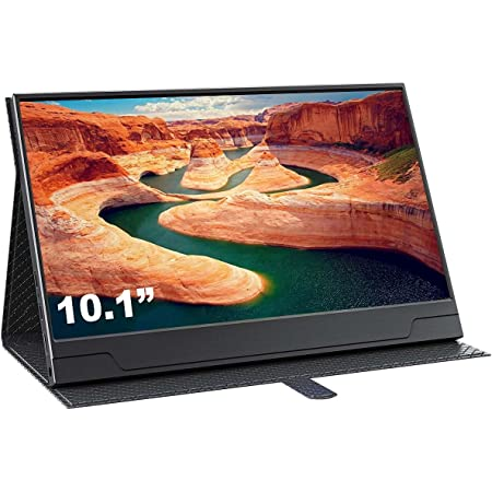 cocopar モバイルモニタ 10.1インチ1366*768 IPS HDR機能を支持IPSゲーミングモニター ゲーム/HDMI/PS3/XBOX/PS4モニター1080PダブルHDMI Raspberry Pi用対応できる スピーカ内蔵 PCモニター