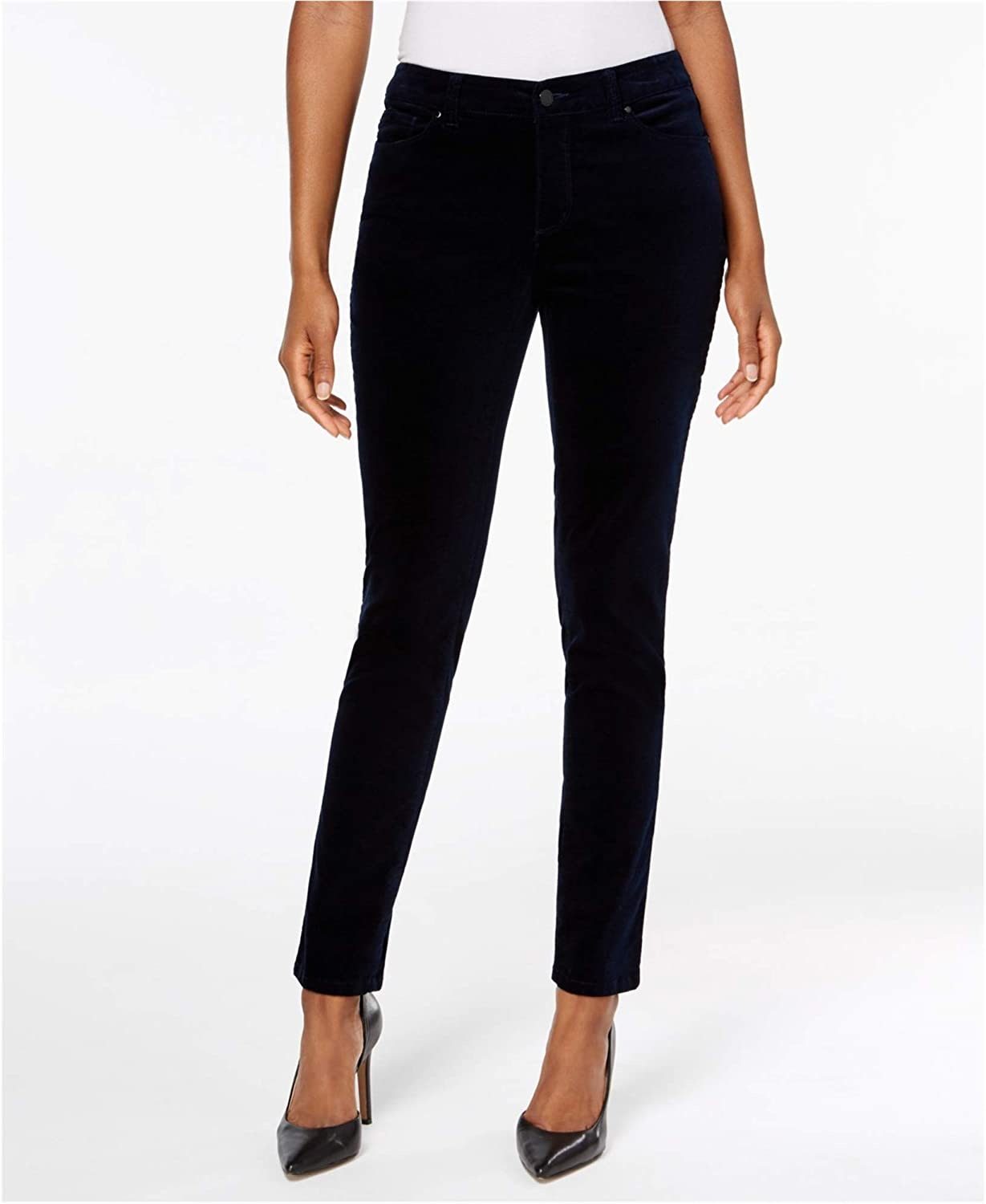 Charter Club Womens Bristol Velveteen Casual Trousers