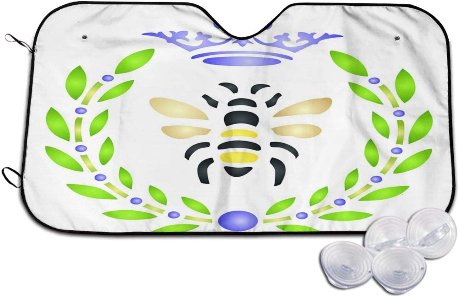 French Queen free Bee 1 Car Large discharge sale Sunshade Windshield