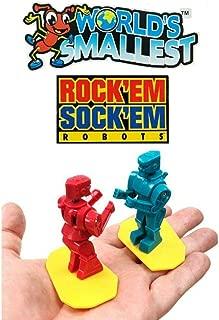 Big Game Toys~World's Smallest ROCK'EM SOCK'EM Robots Boxing Miniature Pocket Sized Toy