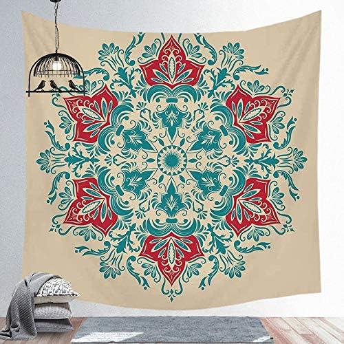 200x150cm 3D HD Afdrukken Indiase Mandala Polyester Tapijt Muurbevestiging Tapijt Yoga Mat Strand Tapijt Deken Matras Slaapmat