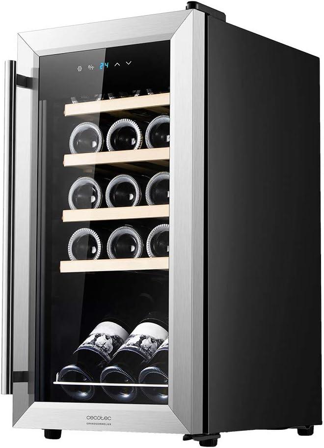 Vinoteca Cecotec GrandSommelier 15000 INOX Compressor