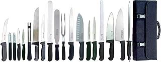 Dolomiten Inox MASTER CHEF - Juego de 20 cuchillos de chef (acero inoxidable fabricación alemana)