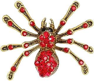 Wimagic Araign/ée Broche Broche en Cristal Vintage Diamant Inlaidand Alliage V/êtements Accessoires pour Femmes De Haute Qualit/é