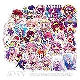 upain Aufkleber Koffer Gitarre Sticker Anime NO GAME NO LIFE Laptop-Aufkleber Anime Anime...