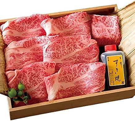 父の日 御祝 すき焼き A5 常陸牛 肩ロース 700g 5人前 木箱入りギフト 肉のイイジマ