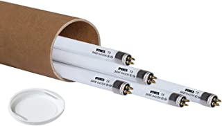 iPower 4FT 45.8IN 54W T5 Fluorescent High Output HO Cool Blue Grow Light Bulbs 5 PACK 6400K