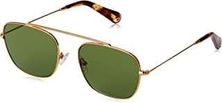 PACIFICO OPTICAL South Green Lens, Gold, Medium to Large