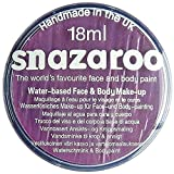 Snazaroo- Pintura facial y Corporal, 18 ml, Color lila, 18ml (Colart 18877)