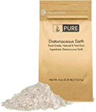 Diatomaceous Earth (4 oz.) by Pure Organic Ingredients, Food Grade, Hundreds of Uses for Health and Cleaning for You, Your Pets, and Your Home