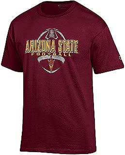 Champion Arizona State Sun Devils Maroon Football Short Sleeve T Shirt
