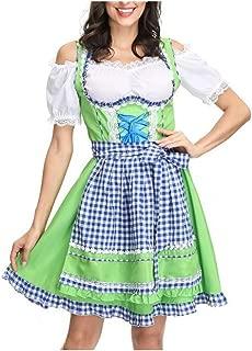 NIANzz Ladies Halloween Costume Bavarian National Costume German Beer Costume Halloween Carnival Night (Color : 01, Size : M)