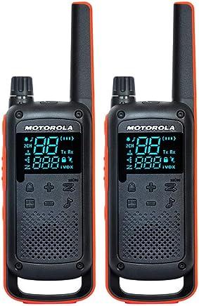 Motorola 摩托罗拉 T82(黑色) 两只装 对讲机 免执照 民用 迷你型 公众 户外 商用 民用 手持对讲机 官方标配 含税带票 默认开电子发票 可开专票