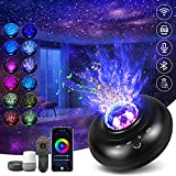Starry Projector Light for Bedroom, Hueliv Smart WiFi Galaxy Night Light WiFi Star Light Projector with Remote Control/Bluetooth/Timer Compatible with Alexa and Smart App, Best Gift for Kids Adults