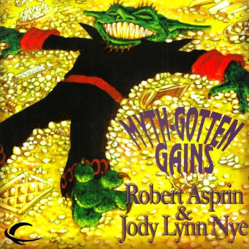 Myth Gotten Gains audiobook cover art