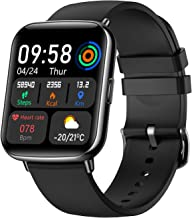 Chstarina Smart Watch, Sport Watches Fitness Tracker with Heart Rate Monitor Sleep Steps Tracking Full 1.69 in HD Touch Screen Running Watch, IP68 Waterproof Smartwatch Messages Alerts for Men Women