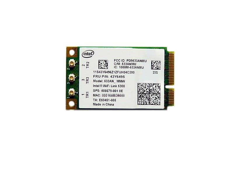 肺炎不利履歴書Lenovo純正 Intel WiFi Link 5300 802.11a/b/g/n 最大450Mbps FRU43Y6495