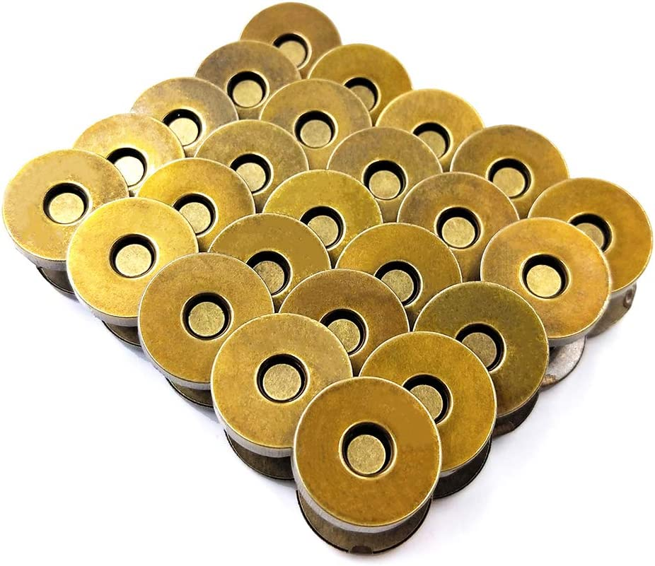 50 Sets Magnetic Bombing free shipping Purse Snap Clasps Purs Opening large release sale Great Closure for Button
