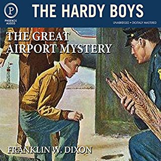 The Great Airport Mystery audiobook cover art
