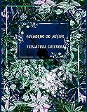 Cuaderno de Música Tablatura Guitarra: Libreta de Partituras o Pentagramas Libreta Notación Musical, Tamaño A4, 5 tablaturas y 5 diagramas de acordes por página, 200 páginas (Español) Tapa blanda
