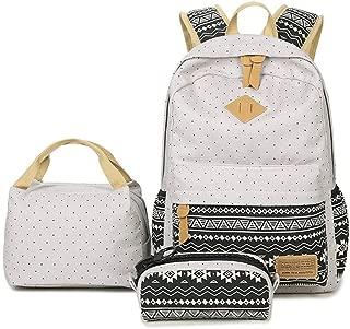 School Backpack Meal Pack 1 School Backpack + 1 Cross Body Bag + 1 Money Pouch Kids School Bags for Girls BTS School Bag Bags for School (Color : Grey)