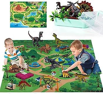 YZJSM Educational Realistic Dinosaur Figures