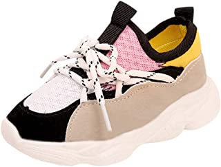 Shoes Sneaker Trainers for Kids Soft Sole Breathable Kindergarten Child Slip Shoes Toddler Lightweight with 70% Traimer Discount, FULLSUNNY