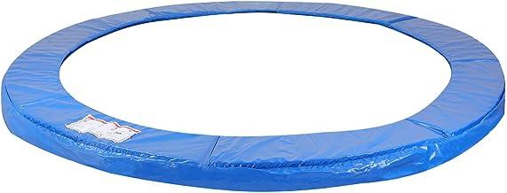 Beschermrand Trampoline Maattabel 244-426 cm Blauw PVC UV Bestendig Randkussen Beschermingsrand