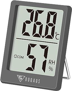 DOQAUS Mini Termómetro Higrómetro Digital, Medidor de Temperatura con 5s de Respuesta Rápida para Temperatura y Humedad de...