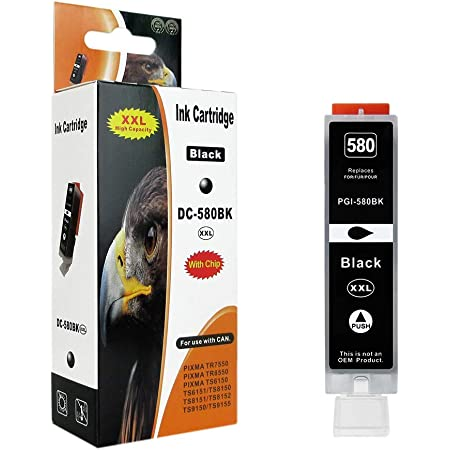 5x Hainberger Xl Patronen Kompatibel Zu Canon Pgi580 Elektronik
