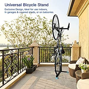 Bicycle Bike Stand, Home Portable Stationary Space-Saving Rack with Adjustable Height for Indoor Bike Bicycle Storage