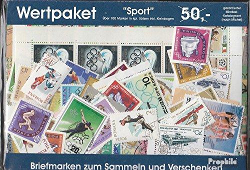 Prophila Collection Motivazioni Wertpaket Sport-Motivazioni in Completa Spese (Francobolli per i Collezionisti) Altri Sport
