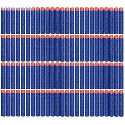 Darts Pfeile für Nerf Zubehör, 200 Stück 7.2cm Refill Bullets Pfeile Nachfüllpack Darts für N-Strike Elite Blasters Spielzeugpistole