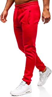 Amazon.es: Rojo - Pantalones deportivos / Ropa deportiva: Ropa