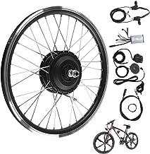 Kits de conversión de Bicicleta eléctrica, Motor de 36V/48V 250W Pantalla LED KT900S Kit de conversión de Bicicleta eléctrica de Rueda de 20