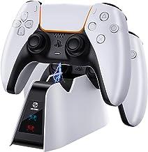 Hiwings Chargeur Manette PS5,Station de Charge du Manette DualSense avec Protection Contre la Charge Rapide,Chargeur PS5 p...