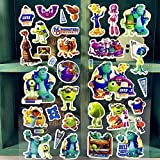 BLOUR Nuevo Adorable Monster Stickers Decorativos Scrapbooking DIY Diary Album Stick Label Kids Classic Toys 2pcs / Set