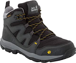 Jack Wolfskin Unisex-Child Boys MTN Attack 3 Texapore Mid Kid's Waterproof Hiking Boot