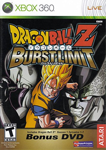 DragonBall Z Burst Limit With Bonus DVD