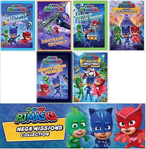 PJ Masks Mega Missions Adventure Collection