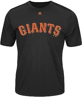 San Francisco Giants Adult Evolution Color T-Shirt (Large, Brown)