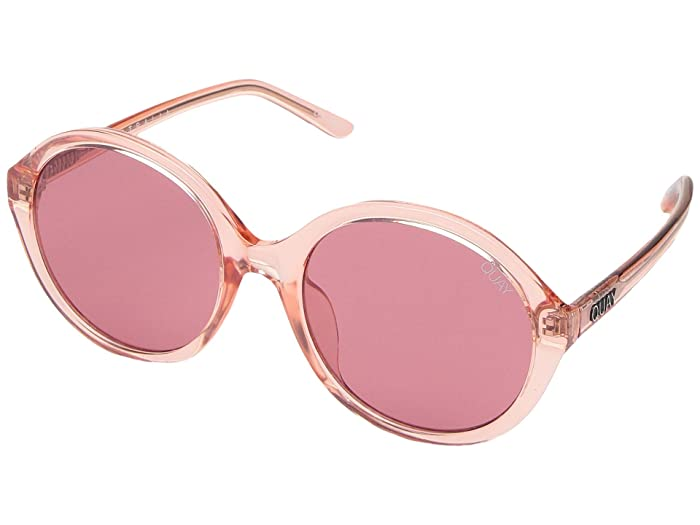 QUAY AUSTRALIA QUAYxBenefit Tinted Love (Pink/Pink) Fashion Sunglasses