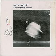Led Zeppelin Robert Plant Signed Autographed Principle Moments Album Beckett BAS