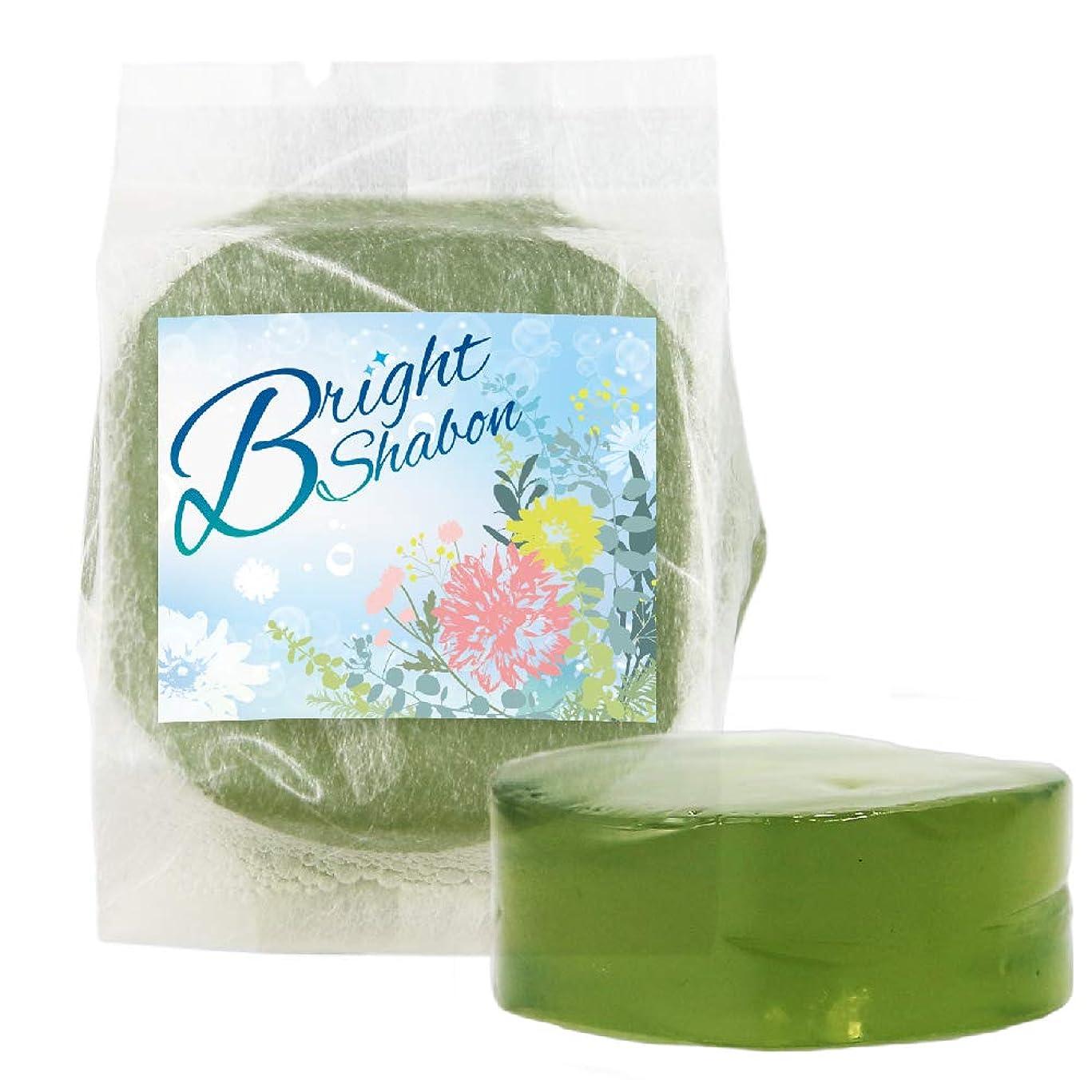 ボタン夜そこからブライトシャボン Bright Shabon 洗顔料 ぷるぷる石鹸 石けん