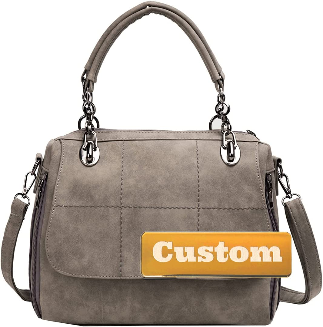 Personalized Custom Soldering Name Purse Tote Travel Bag Strap Le San Diego Mall Shoulder