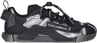 DOLCE E GABBANA Luxury Fashion Mens CS1770AX3938B808 Black Sneakers   Spring Summer 20