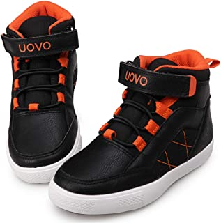 UOVO Kids Boys Shoes Running Sneakers Tennis Little Big Boy Sport Athletic Gym Shoes Water Resistant Boys Winter Boots Shoes