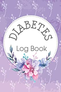 Diabetes Log Book: Keep Track of Your Daily Food Intake and Blood Sugar Glucouse Levels (Size 6x9)