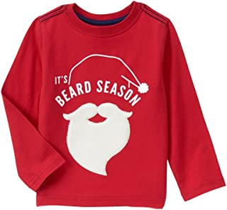 Crazy 8 Baby Boys' Long-Sleeve Beard Tee